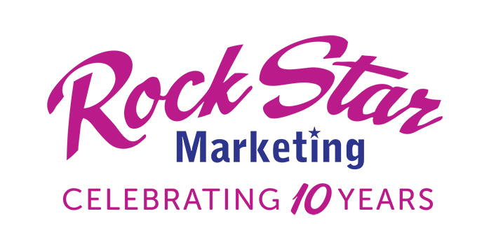 Rock Star Marketing logo 10 years