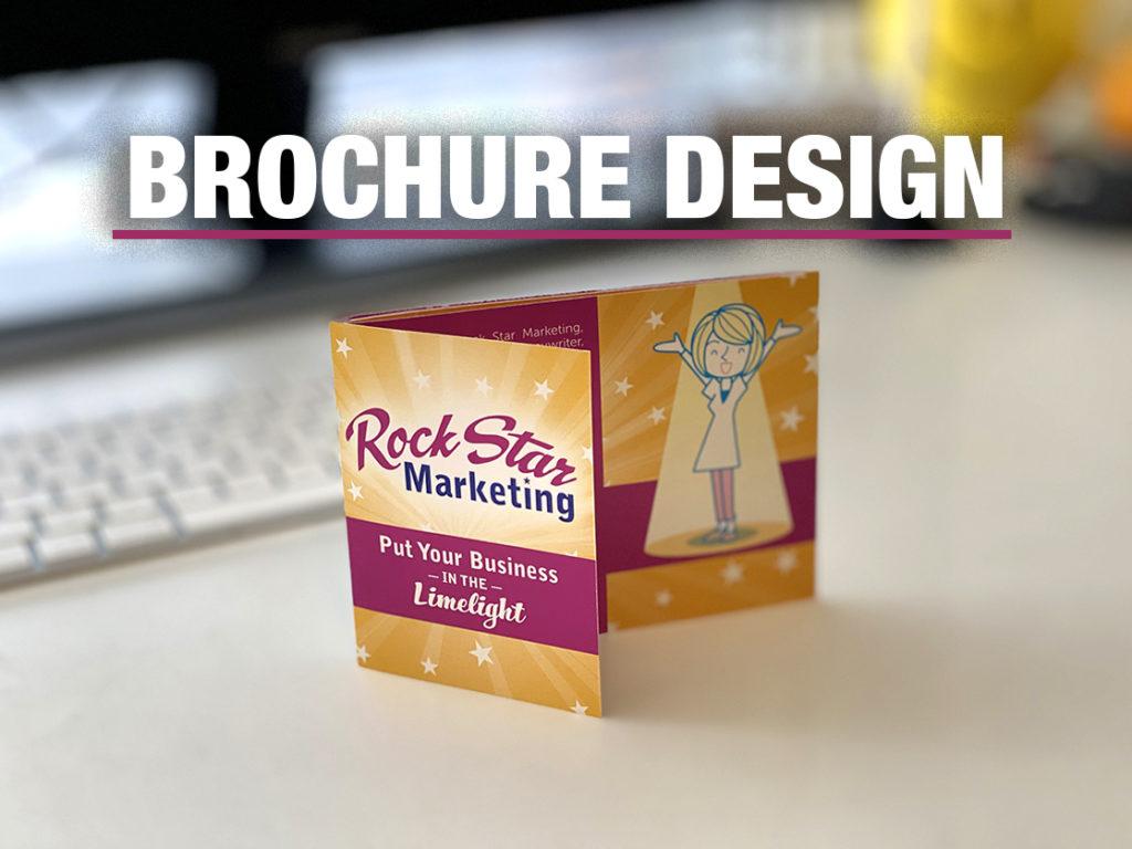 brochure design Rock Star Marketing